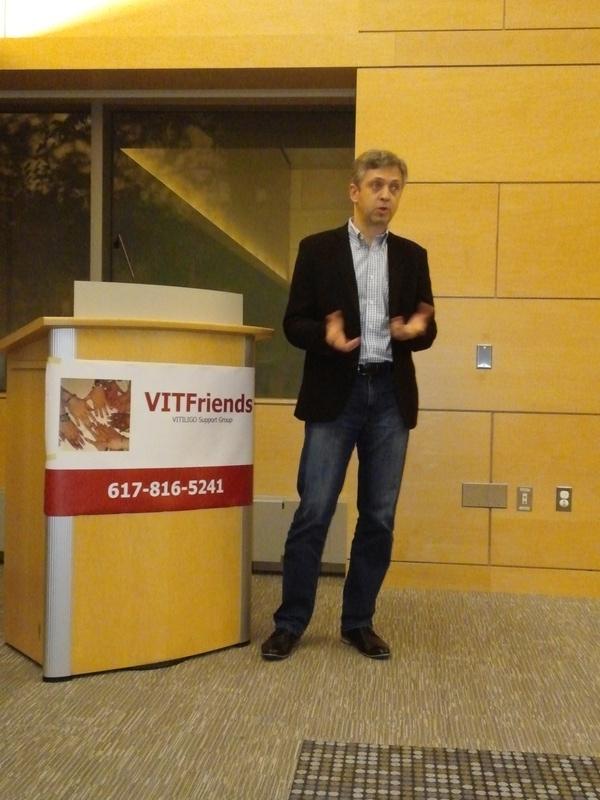 Yan Valle, CEO Vitiligo Research Foundation